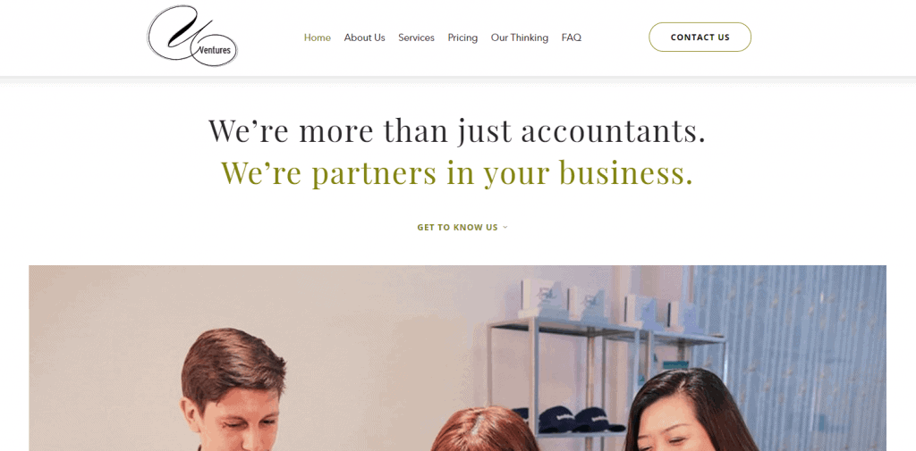 U Ventures accounting services in singapore