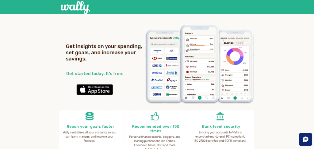 Wally expense tracker app in singapore