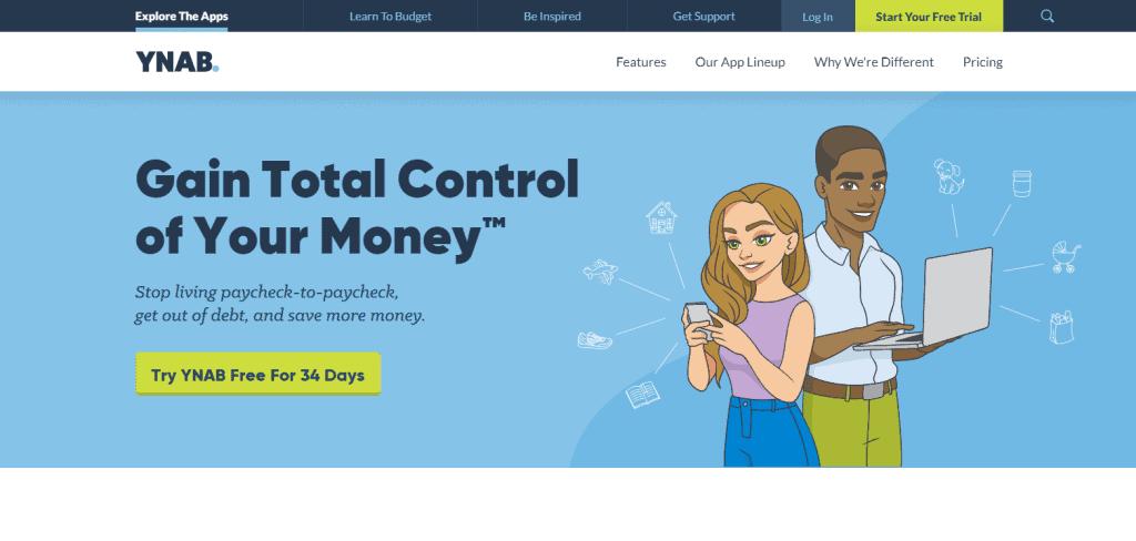 YNAB expense tracker app in singapore