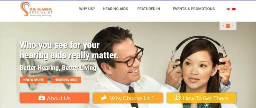 Best Hearing Test in Singapore (The Hearing Specialist Group)