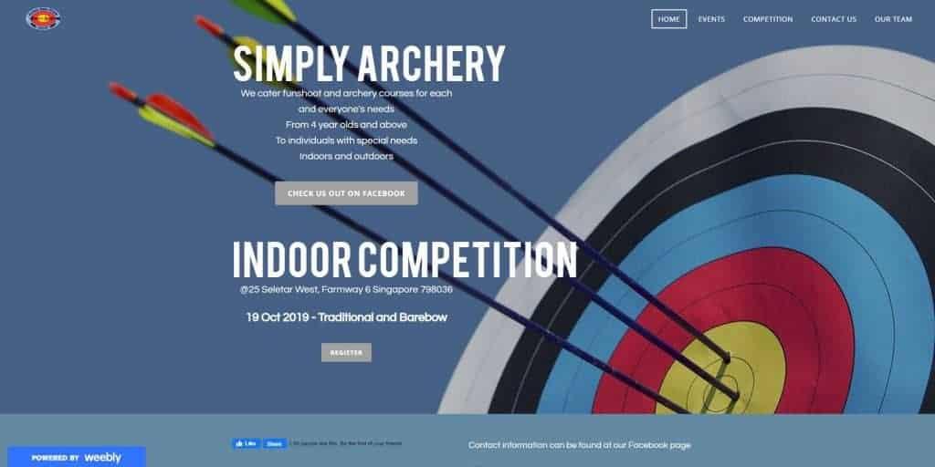 best archery in singapore_simply archery