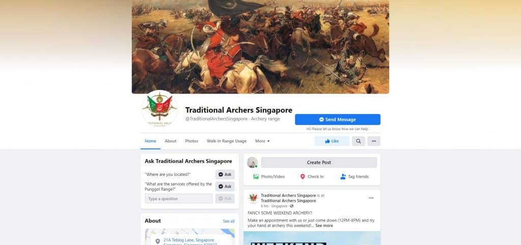best archery in singapore_traditional archers singapore