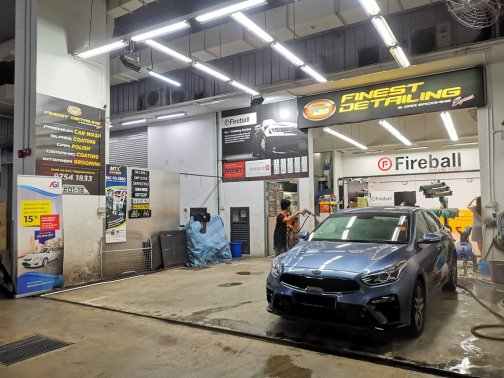 best car wash in singapore