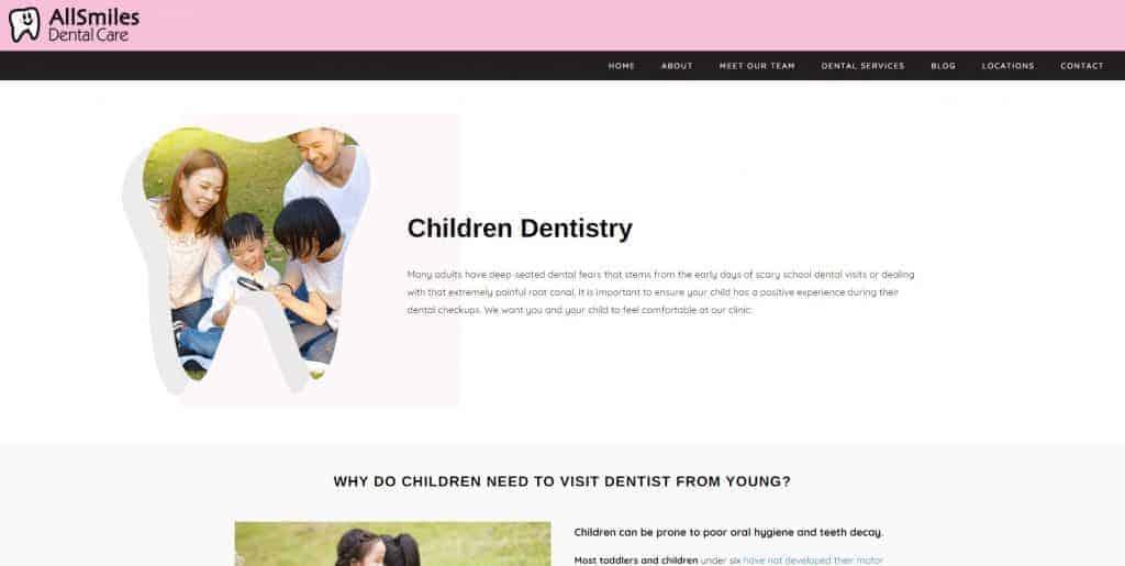 best dentist for kids in singapore_allsmiles dental care