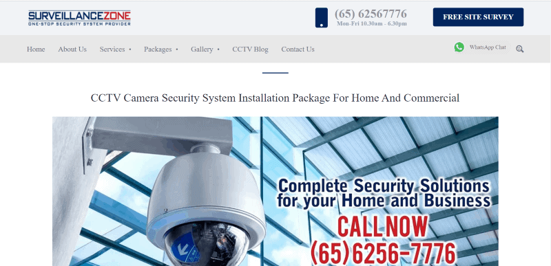 best home security system in singapore
