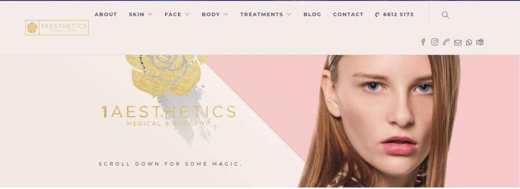 Best Clinics for Mole Removal in Singapore (1Aesthetics, Medical & Surgery (Dr Wan Chee Kwang)