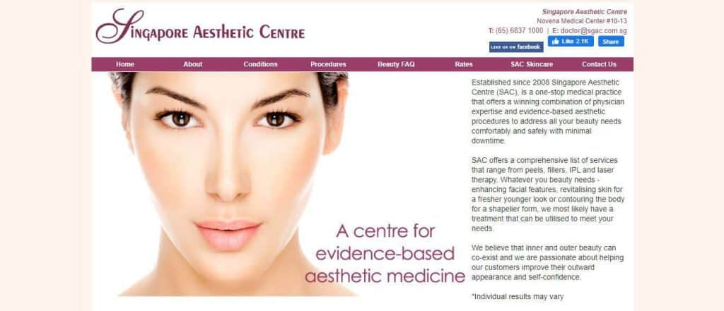 Best Clinics for Mole Removal in Singapore (Singapore Aesthetic Centre)