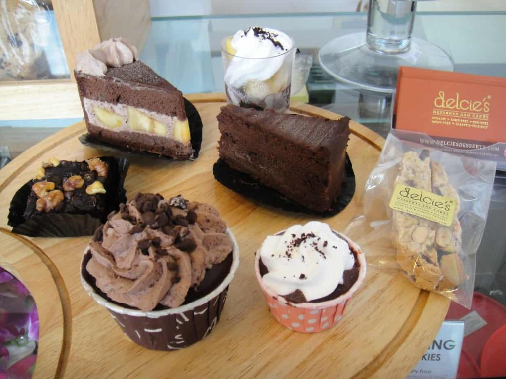 Best Gluten Free Food in Singapore ( Delcie's Desserts and Cakes)