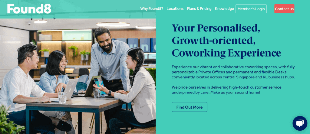 best co working space in singapore_found8