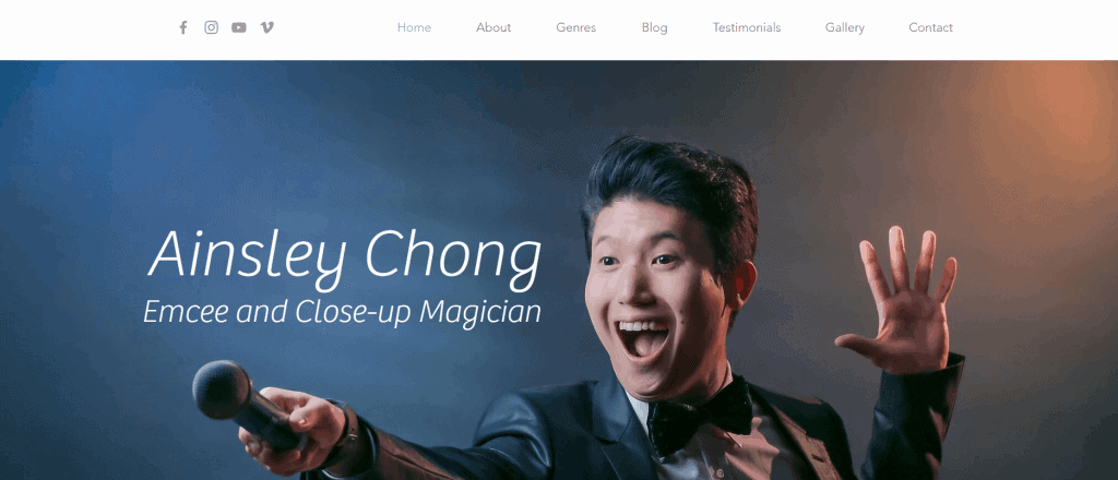 best emcee in singapore to get your products known_ainsley chong