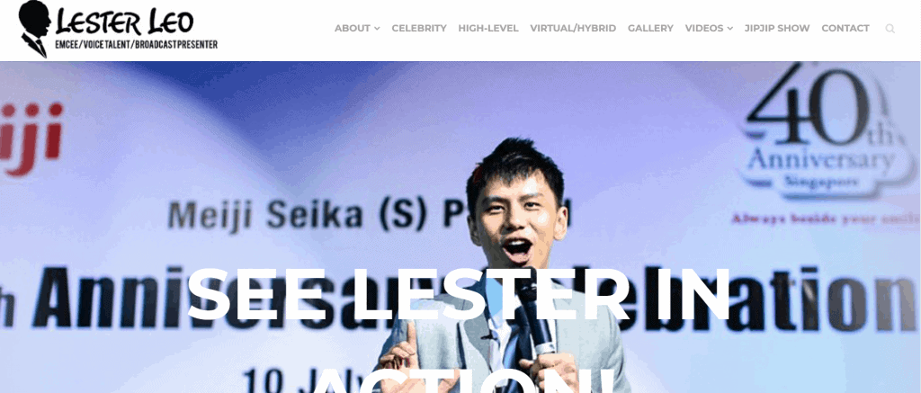 best emcee in singapore to get your products known_lester leo
