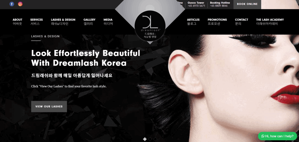 best salons for lash lift in singapore_dreamlash