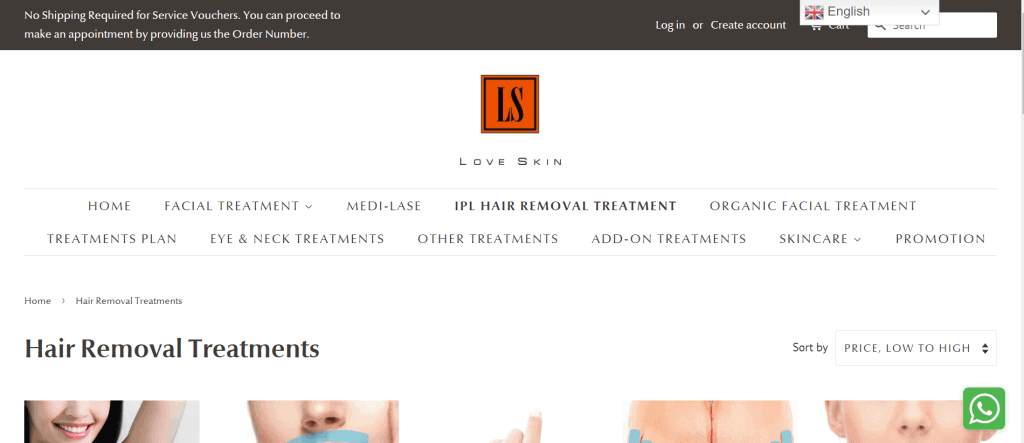 best salons for ipl hair removal in singapore_love skin sg