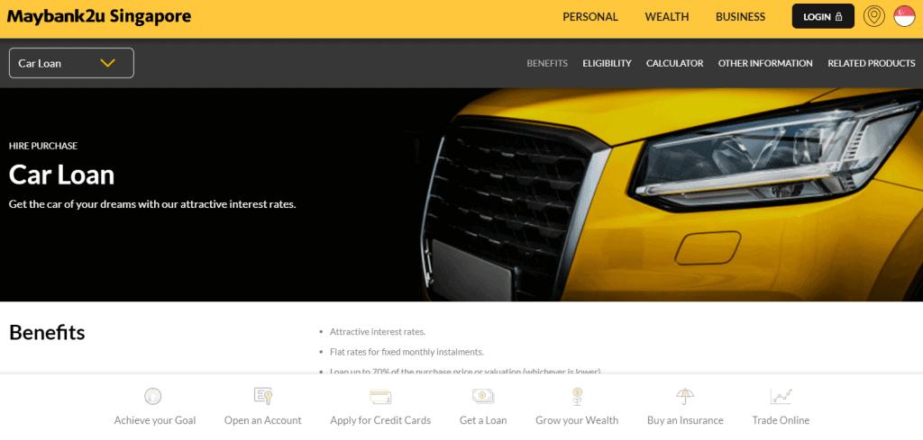 maybank best car loan in singapore