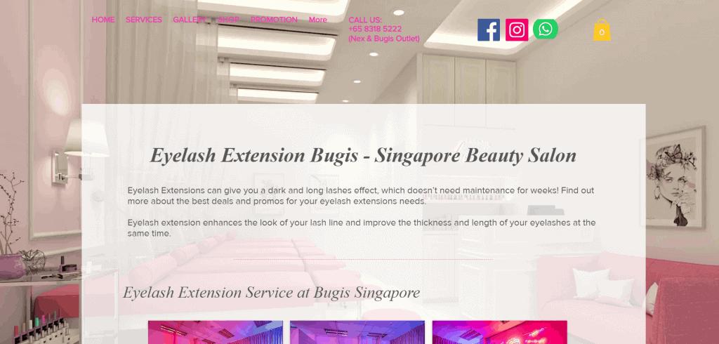 best salons for lash lift in singapore_perkylash