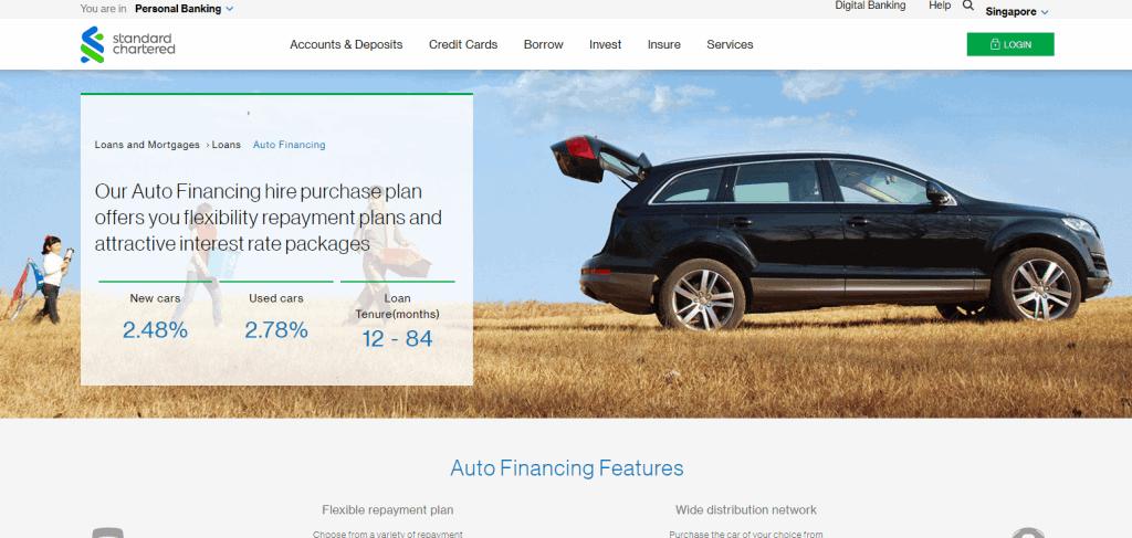 sc best car loan in singapore