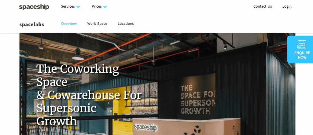 best co working space in singapore_spaceship