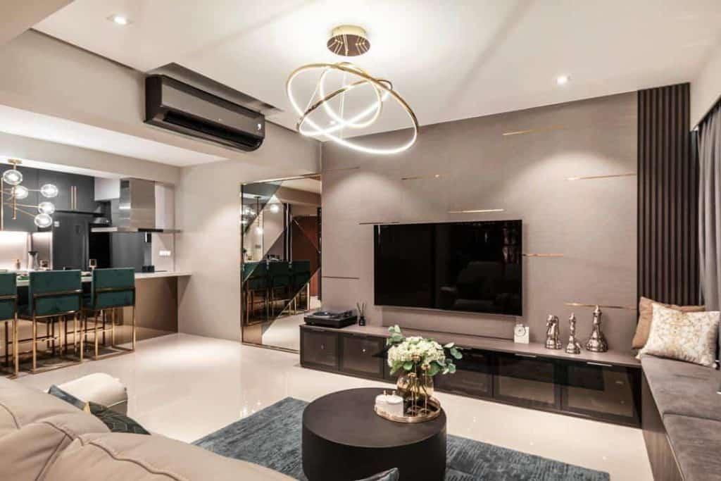 Best Luxury Interior Design in Singapore (Mr Shopper Studio)