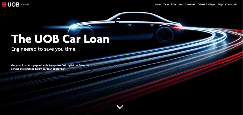 uob best car loan in singapore