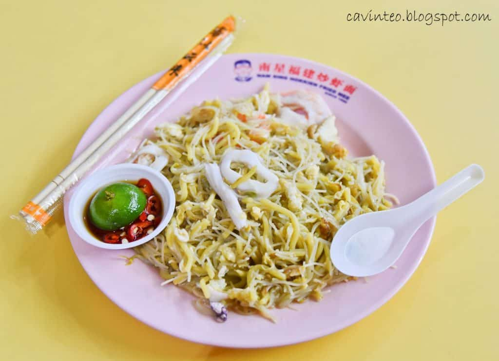 best hokkien mee in singapore_nam sing hokkien fried mee