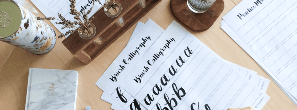 Best Calligraphy Class in Singapore (Nehohmee)