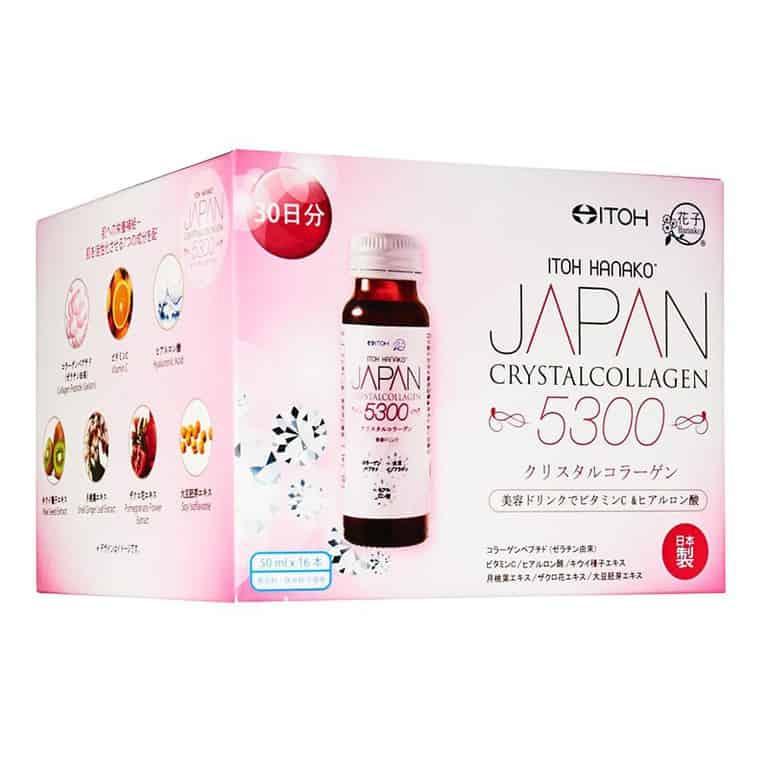 best collagen drink in singapore_itoh hanako crystal collagen