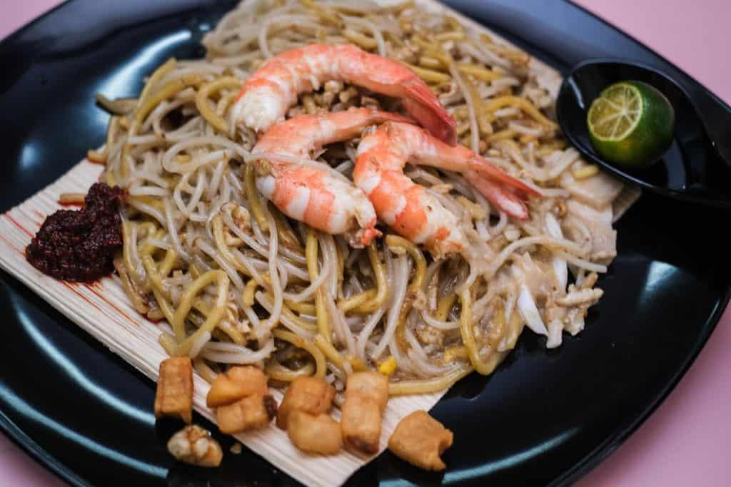 best hokkien mee in singapore_youfu fried hokkien prawn noodle