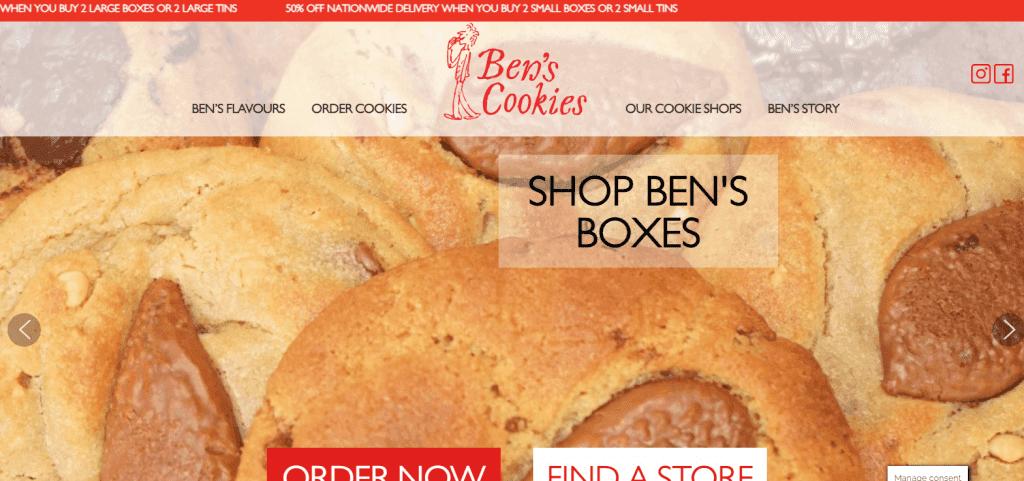 bens cookies best cookies in singapore