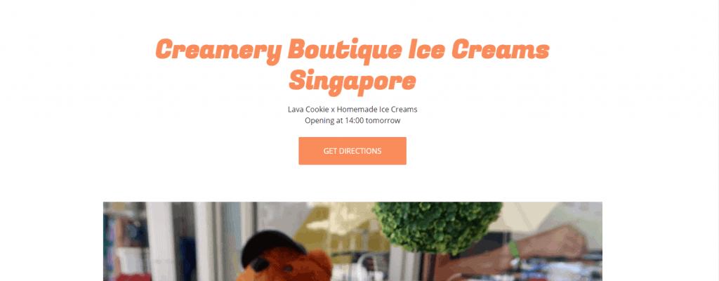 Creamery-boutique-ice-cream best cookies in singapore