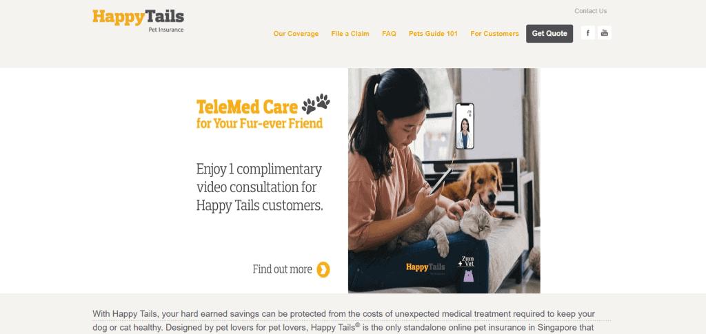 Happy-Tails pet insurance