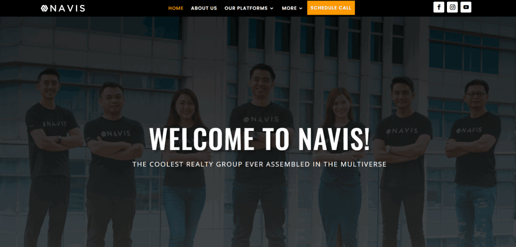 Navis property agents in Singapore