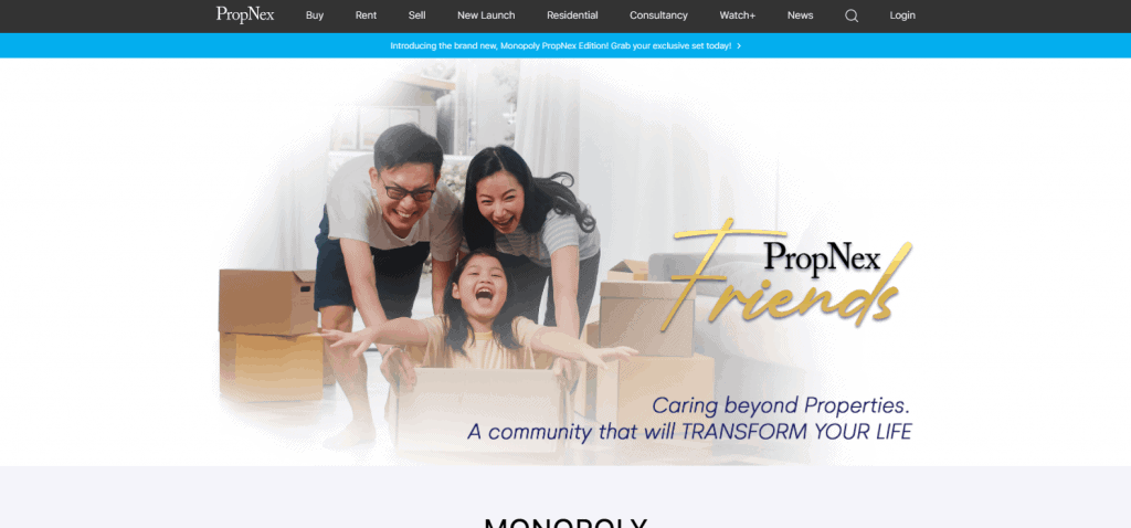 propnex property agents in Singapore