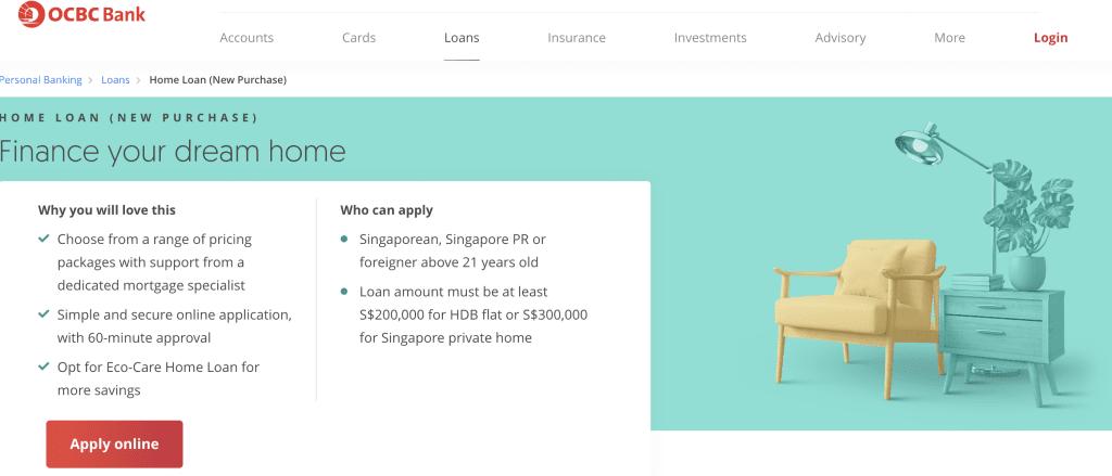 Housing loan in Singapore - OCBC Home Loan