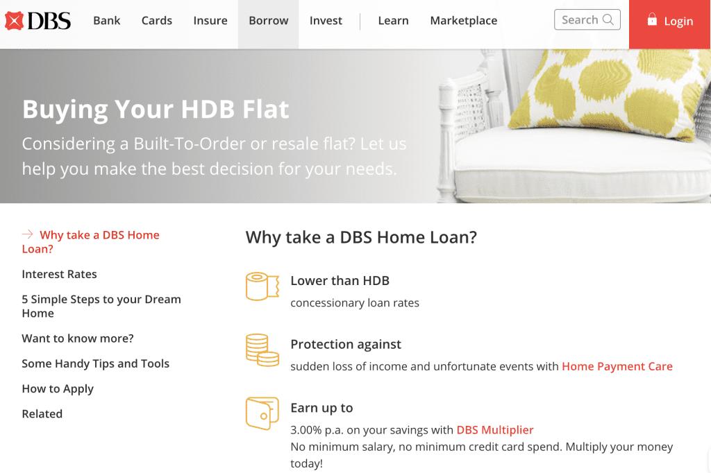 Housing loan in Singapore - DBS HDB Loan