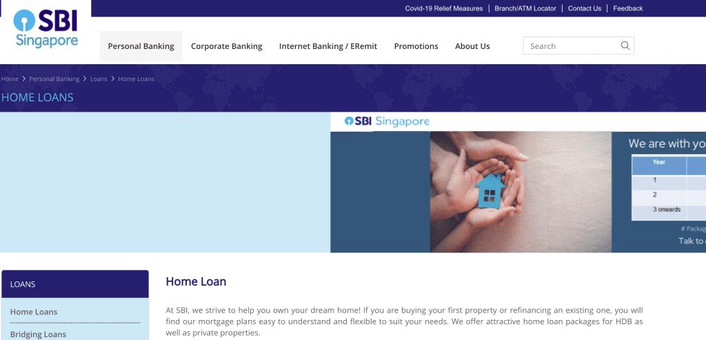 Housing loan in Singapore - SBI Singapore