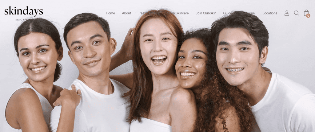 Extraction facial in Singapore - Skindays