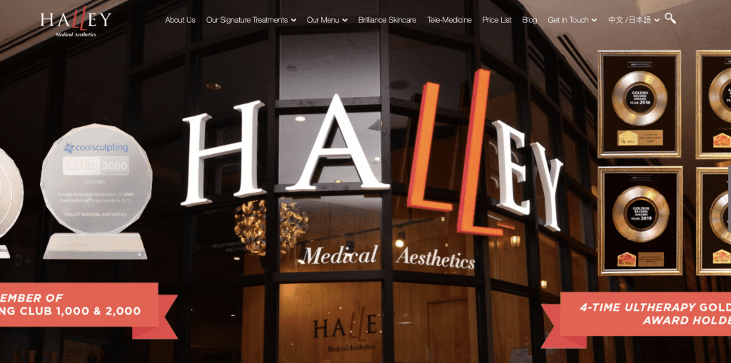 Extraction facial in Singapore - Halley Medical Aesthetics
