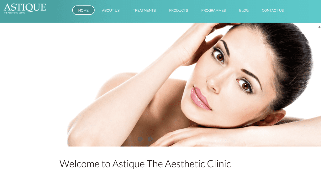 Extraction facial in Singapore - Astique