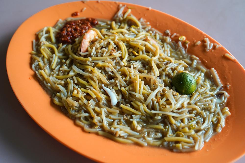 best hokkien mee in singapore_blue star fried hokkien mee