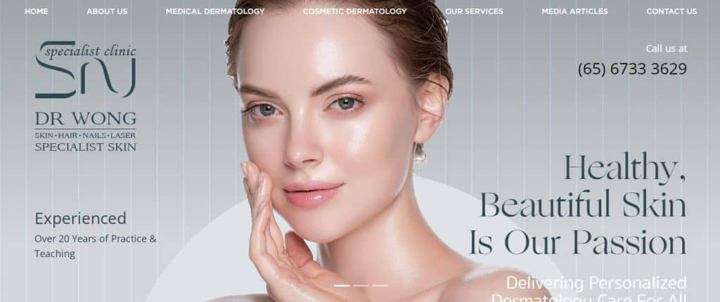 10 Best Dermatologist in Singapore (Dr SN Wong Skin, Hair, Nails and Laser Specialist Clinic: Dermatologist)