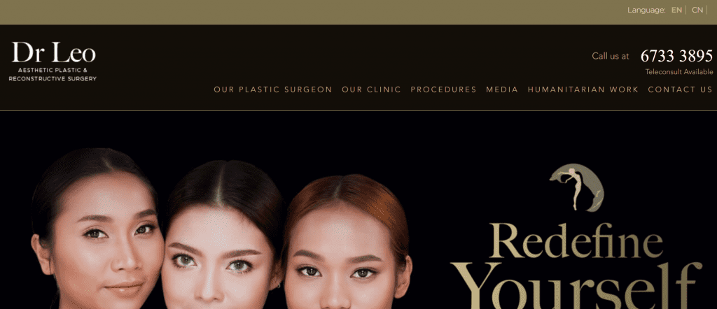 best clinics for rhinoplasty in singapore_dr leo Plastic & Reconstructive Surgery