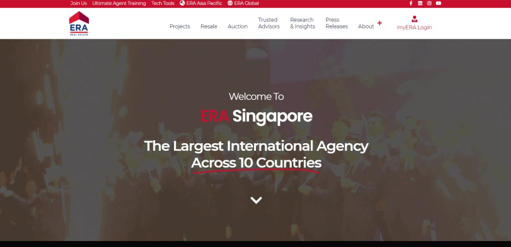 era property agents in Singapore