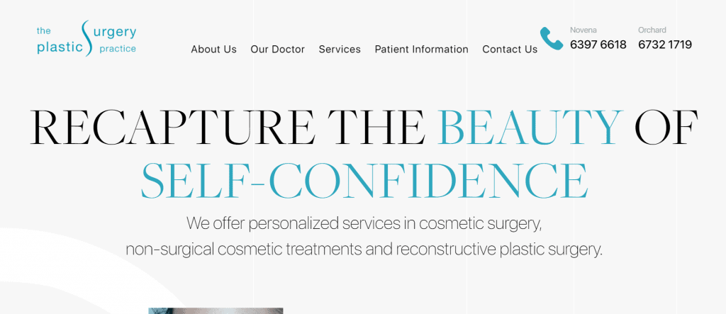 best clinics for rhinoplasty in singapore_the plastic surgery practice