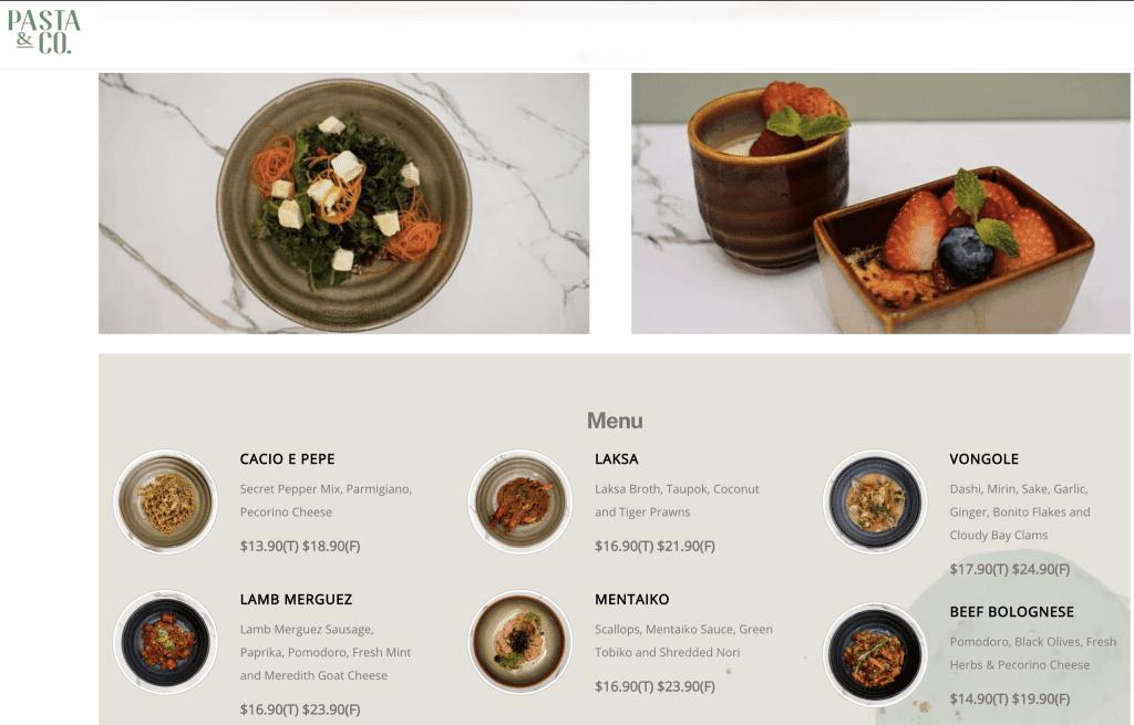 Mentaiko Pasta Singapore - Pasta & Co