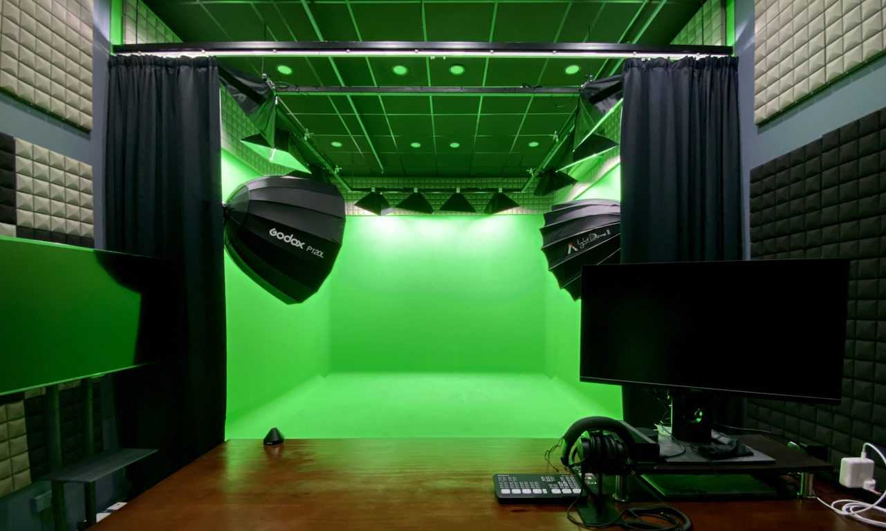 TNC Productions green screen studio 1