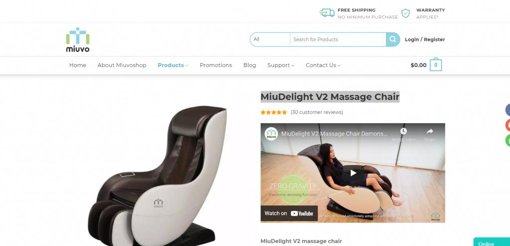 Miuvo-best-massage-chair-sg