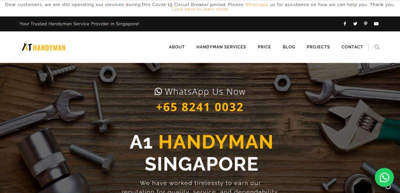 best handyman service in singapore