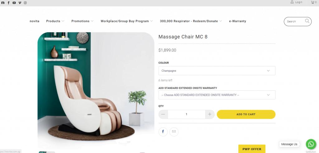 novita-best-massage-chair-in-sg